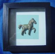 Framed Horse - Asian Art