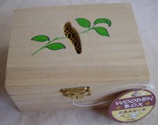 Painted Wooden Box - Boxes