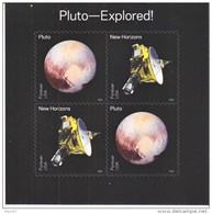 US SPACE S/S  **  SPACE  PLUTO   SPACECRAFT - United States