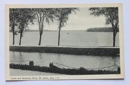 Canal And Richelieu River, St. Johns, Quebec, Canada - Quebec