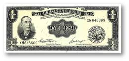 Philippines - 1 Peso - ND ( 1949 ) - Pick 133.h - UNC. - Sign. 7 - Serie XM - Seal Type 1 - Philippines