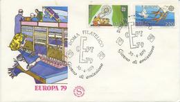 ITALIA - FDC FILAGRANO 1979 - EUROPA UNITA - CEPT - 6. 1946-.. Repubblica