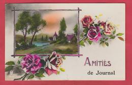 Journal ( Tenneville ) - Amitiés De ... - Jolie Carte Fantaisie - 1934 ( Voir Verso ) - Tenneville