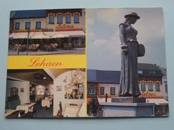 Ijssalon - Koffiehuis LEHAEN Bevrijdingsplein 9 ( Zie Foto Voor Details ) Anno 19?? !! - Leopoldsburg