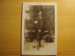 CPA PHOTO MILITAIRE - War 1914-18