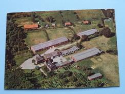 Luchtzicht JEUGDHEEM HOFFBAUER Trichterweg 33 ( Zie Foto Voor Details ) Anno 19?? !! - Zutendaal