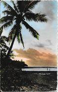 Nouvelle Calédonie - Poum (Poingam) - Coucher De Soleil - Magasin Rose De France - Nouvelle-Calédonie