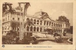 Viet-Nam - Saïgon - Palais Du Gouvernement Général - Edition L. Crespin - Viêt-Nam