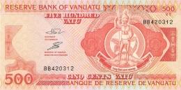 VANUATU   500 Vatu   ND (1993)   Sign.3   P. 5   UNC - Vanuatu