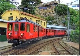 215 FG A9 Genova Piazza Manin Firema Rairoad Treain Railweys Treni - Treni
