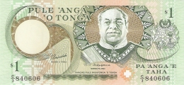TONGA   1 Pa'anga   ND (1995)   P. 31b   UNC - Tonga