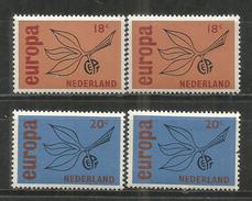 131z * NIEDERLANDE 848/9 * 2 X EUROPA * POSTFRISCH *!! - Periodo 1949 - 1980 (Giuliana)