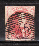 5  Médaillon Non Dentelé - Margé - Oblit. P45 GAND - LOOK!!!! - 1849-1850 Médaillons (3/5)