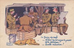 CPFM 1940 Byrrh - Joseph Hamard Guerre Des Nerfs Chien - Non Circulée - 2 Scans - Marcophilie (Lettres)