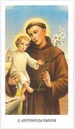 SANTINO HOLY CARD S.ANTONIO DA PADOVA -SECONDA PARTE 900 (323M - Images Religieuses