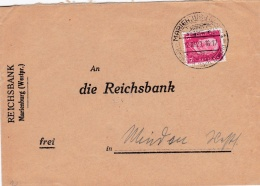 Deutsches Reich Cover Posted Marienburg 1929 (LAR3B1A) - Storia Postale