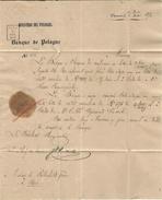 1872 - Letter From VARSOVIE  ( Russian Time ) ) Scarce  Rating  12 D  BLUE - Polen