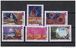 Cuba 1975 Space Set Of 6 MNH - Spazio