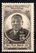 Col3 :  AEF Afrique : N° 206  Neuf X MH , Cote : 0,55€ - A.E.F. (1936-1958)