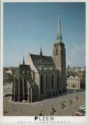 AK - Plzeň Pilzen Pilsen - Tschechien - Kirche Church Kerk - Kirchen U. Kathedralen