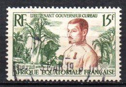 Col3 :  AEF Afrique : N° 230 Oblitéré  , Cote : 0,50€ - A.E.F. (1936-1958)