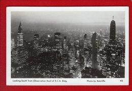 1 Cpa New York La Nuit - Multi-vues, Vues Panoramiques
