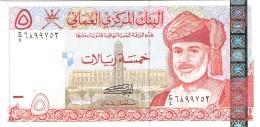 OMAN   5 Rials   2000   P. 39   UNC - Oman