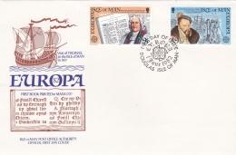 Isle Of Man 1982 FDC Europa CEPT (LAR3B2) - Europa-CEPT