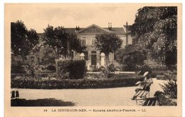 Var - LA SEYNE-sur-MER - Square Anatole-France - 1935 - La Seyne-sur-Mer