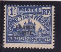 Madagascar Taxe N° 25 Neuf * FRANCE LIBRE - Madagascar (1889-1960)