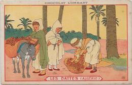 CPA Publicité Publicitaire Réclame Non Circulé Chocolat Lombart Algérie Ane - Pubblicitari