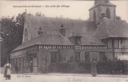 BEUZEVILLE-la-GRENIER - Un Coin Du Village - Animé - France