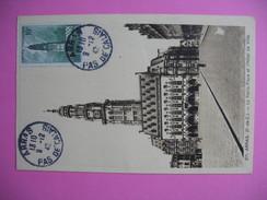 Carte-Maximum    N°567 Beffroi D'Arras 1942 - 1940-49