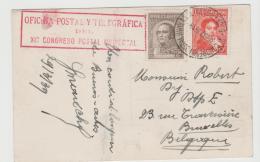 Arg189a /  ARGENTINIEN - UPU Konferenz 1939, Buenos Aires + Cachet + Sonderstempel Vom 30.3.39 - Argentinien