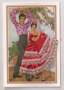 BRODEE ESPAGNE FLAMENCO Robe Rouge - Embroidered