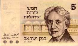 ISRAEL 5 LIROT De 1973  Pick 38  UNC/NEUF - Israel