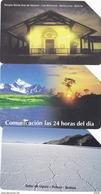 3 Phonecards Bolivia (1)