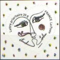 Autoadhésif(s) De France N°  148.** Ou 4130 - Franok Et Sabine - Coeur Saint Valentin 2008 - 20 Grammes - France