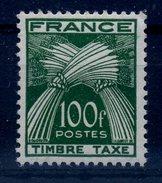 FRANCE TAXE 1946-55 TYPE GERBES N° YVERT 89 COTE 87E - 1859-1955 Nuovi