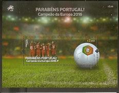 Portugal ** & Congratulations Portugal, European Champion 2016 (1) - Neufs