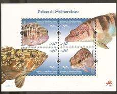 Portugal ** & Fish Of The Mediterranean 2016 (1) - Neufs