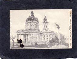 68768    Italia,   Torino,   Chiesa  Reale Di Superga Col  Monum.  Dedicato  A  Umberto I.,  VG  1923 - Iglesias