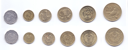 Cyprus 6 Coins Lot 1983 - Chypre
