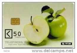 BOSNIA - 036 Apple - 50 Units - 300.000 - 2001 - Bosnia