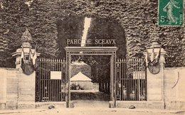 CPA SCEAUX - ENTREE DU PARC DE SCEAUX - Sceaux