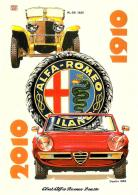 [MD0660] CPM - CENTENARIO DEL MARCHIO ALFA ROMEO - DISEGNO DI ALDO BROVARONE - CON ANNULLO 20.3.2010 - NV - Cartoline