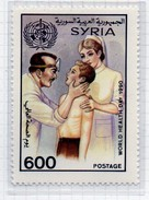 PIA  - SYRIA  -  1990  : Giornata Mondiale Della Sanità -  (YV  887 ) - Salud