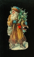 Découpi ( 839 )    H  7,5 Cm  -  Kerstman  Père Noël - Motiv 'Weihnachten'