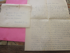 WW2-Infanterie Air Rabat Maroc Cie D'écoute & Radiogoniométrie BPM 507 Marcophilie Lettre & Courrier Guerre 1939-45 - Marcophilie (Lettres)