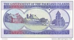 FALKLAND ISLANDS P. 16a 50 P 1990 UNC - Islas Malvinas
